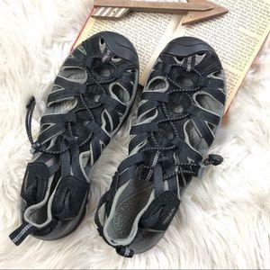 KEEN Womens Sandals 7.5 Black Newport Washable
